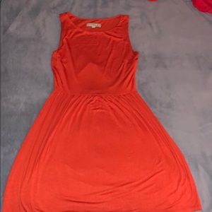 Loft Medium orange dress